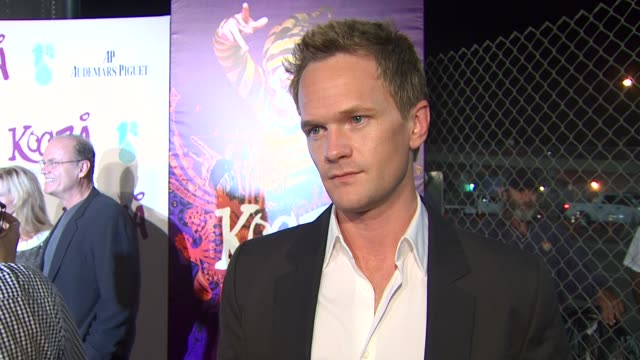 Neil Patrick Harris on the Emmys the event at the KOOZA Opening Night Gala To Benefit The One Drop Foundation Heal The Bay at Santa Monica CA