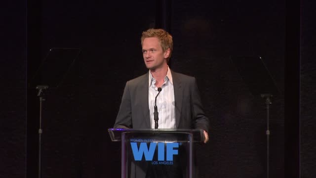 Neil Patrick Harris on the event at the 2011 Women In Film Crystal Lucy Awards Sponsored By Pandora And Max Mara at Beverly Hills CA