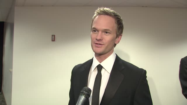 Neil Patrick Harris on the event the relationship between writers and actors his favorite line from the show at the 2009 Writers Guild Awards at Los...