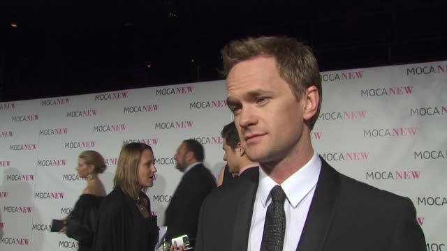 Neil Patrick Harris on why he wanted to be a part of the evening why it's important to support LA art institutions if he's an avid art collector what...