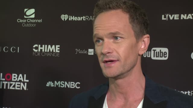 INTERVIEW Neil Patrick Harris on why this day is important on his being a father affects his actions here at 2016 Global Citizen Festival In Central...