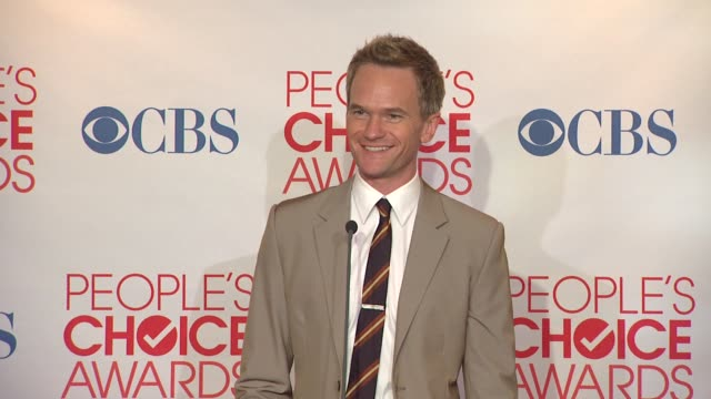 Neil Patrick Harris on winning Favorite TV Comedy Actor and How I Met Your Mother winning Favorite Network TV Comedy