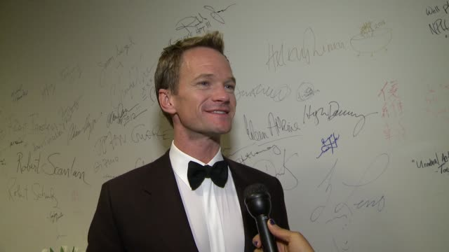 INTERVIEW Neil Patrick Harris says he is shocked and honored to receive this award on why he has a lot to live up to on how he's been treated since...