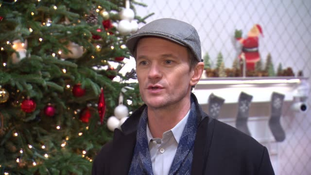 INTERVIEW Neil Patrick Harris talks about his favorite Christmas memories and moments at Neil Patrick Harris Supports The 'It's Christmas Keep It...