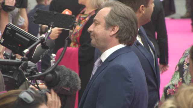 stockvideo's en b-roll-footage met neil pearson at 'bridget jones's baby' world premiere at odeon leicester square on september 5 2016 in london england - neil pearson