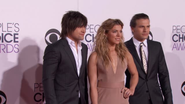 Neil Perry Kimberly Perry Reid Perry at People's Choice Awards 2015 in Los Angeles CA