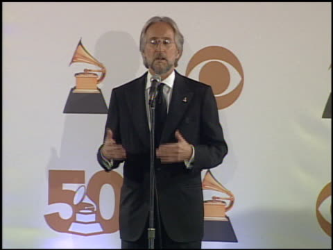 Neil Portnow at the 2008 Grammy Awards press room at Staples Center in Los Angeles California on February 10 2008