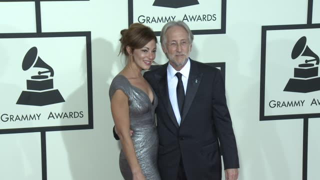 Neil Portnow at The 57th Annual Grammy Awards Red Carpet at Staples Center on February 08 2015 in Los Angeles California