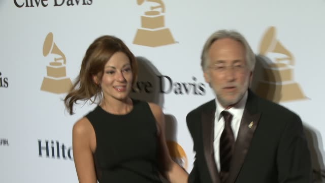neil portnow at the pregrammy gala and salute to industry icons honoring martin bandier at the beverly hilton hotel on february 07 2015 in beverly... - the beverly hilton hotel stock videos & royalty-free footage
