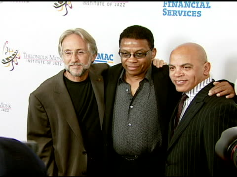 neil portnow, herbie hancock, and rickey minor at the the thelonious monk institute of jazz and the recording academy® los angeles chapter partner to... - herbie hancock stock videos & royalty-free footage