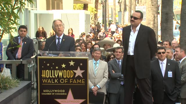 Neil Portnow on Pepe Aguilar as a legendary performer at Pepe 'The Voice' Aguilar Honored With Star On The Hollywood Walk Of Fame SPEECH Neil Portnow...