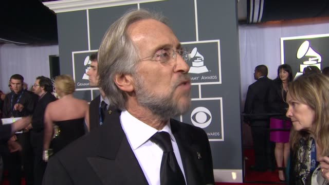 Neil Portnow on the GRAMMY Awards show and on Jennifer Hudson performing at 54th Annual GRAMMY Awards Arrivals on 2/12/12 in Los Angeles CA