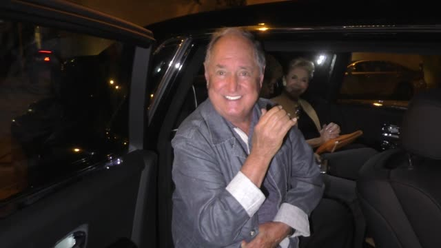 interview neil sedaka says he would like to collaborate with meghan trainor outside craig's restaurant in west hollywood in celebrity sightings in... - meghan trainor stock videos & royalty-free footage