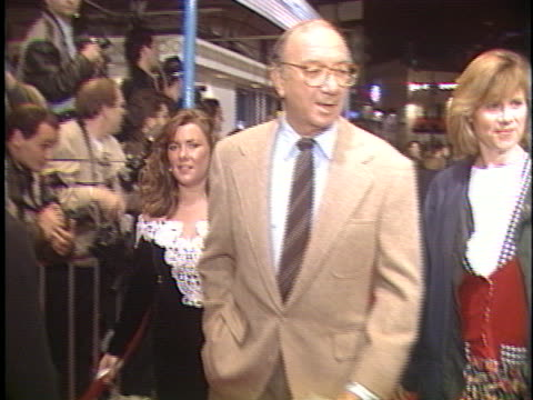 neil simon at the a few good men premiere at westwood in westwood, ca. - westwood stock-videos und b-roll-filmmaterial