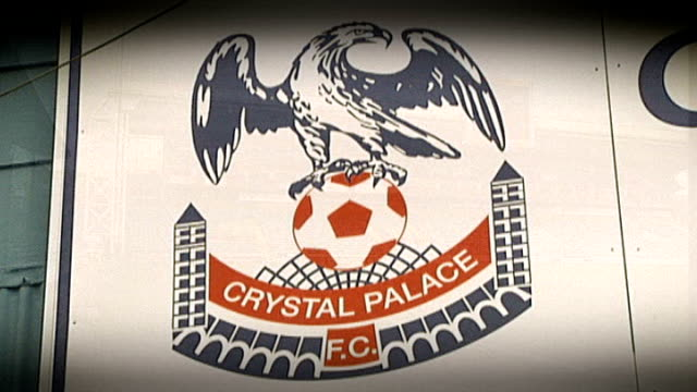 Neil Warnock appointed as Crystal Palace manager reaction T22011031 / T22081426 / T15081430 London South Norwood Selhurst Park Crystal Palace FC logo...