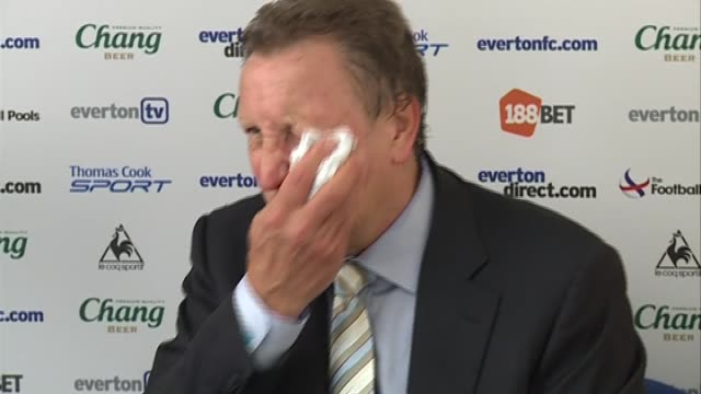 neil warnock discusses qpr's win the new chairman and transfers isntv premier league post match reviews week 2 everton 01 qpr post match reaction at... - 会長点の映像素材/bロール