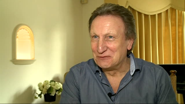 Neil Warnock reacts to losing job as manager of QPR London INT Neil Warnock interview SOT Strange feeling / Like breaking up with girlfriend