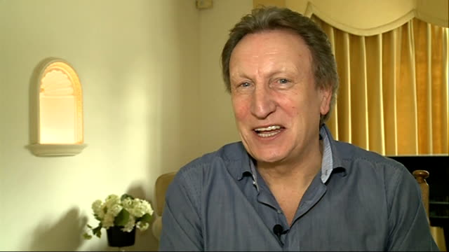 Neil Warnock reacts to losing job as manager of QPR London INT Warnock interview SOT Hardest job ever had