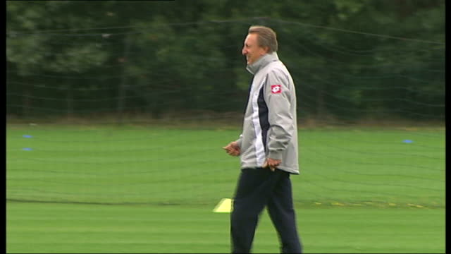 Neil Warnock reacts to losing job as manager of QPR R11081107 Harlington EXT Warnock on QPR training ground