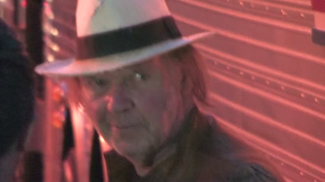 neil young at wiltern theater in los angeles - wiltern theatre stock videos and b-roll footage