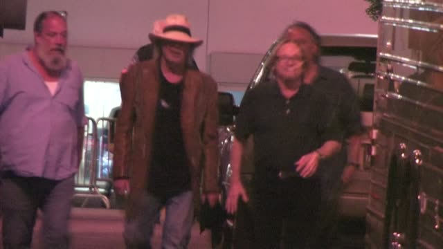 neil young stephen stills at wiltern theater in los angeles - wiltern theatre stock videos and b-roll footage