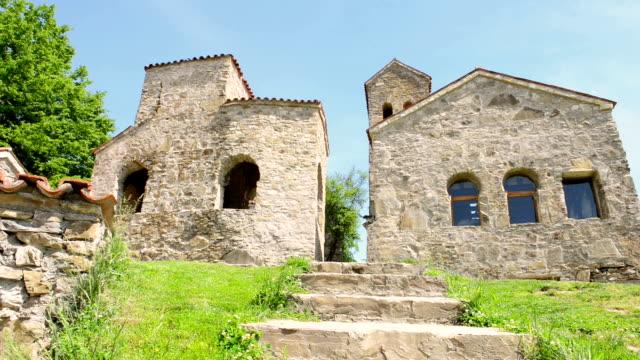 nekresi monastery - circa 6th century stock videos & royalty-free footage