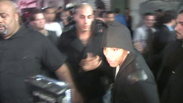nelly outside playhouse hollywood at the celebrity sightings in los angeles at los angeles ca. - playhouse stock videos & royalty-free footage