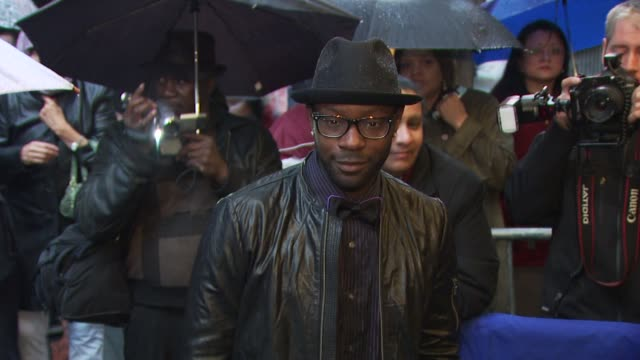 Nelsan Ellis at the 'Fences' Broadway Opening Night Arrivals at New York NY