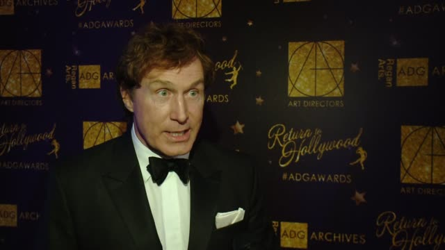 Nelson Coates on Fifty Shades Darker at 21st Annual Art Directors Guild Excellence In Production Design Awards at The Ray Dolby Ballroom at Hollywood...