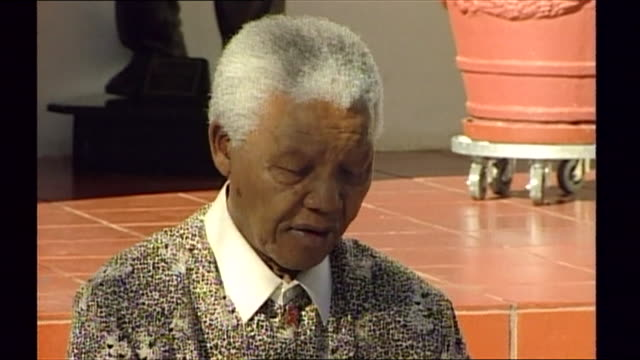 nelson mandela appealing for information regarding 'adam' an unidentified young boy whose torse was discovered in the thames - torso stock videos & royalty-free footage