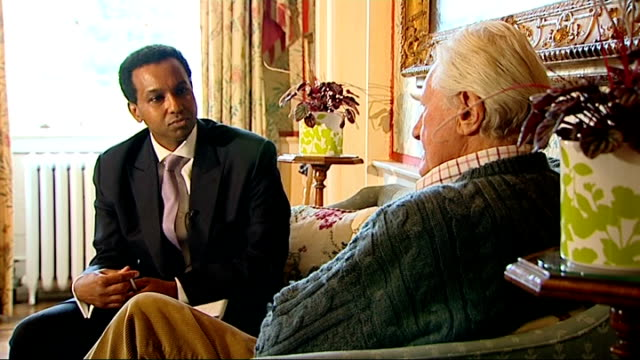 nelson mandela death uk parliament pays tribute location unknown lord heseltine setup shots with reporter / interview sot nelson mandela's early... - michael heseltine stock videos and b-roll footage