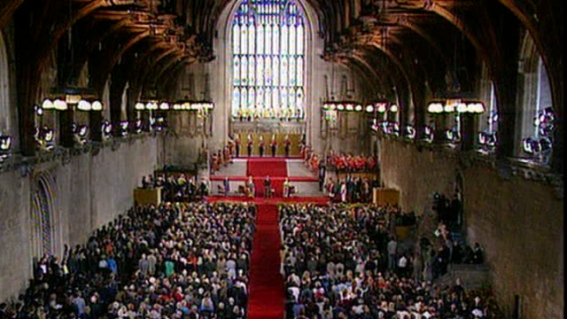 uk reaction diane abbott memories 1171996 / t11079607 houses of parliament westminster hall int nelson mandela address to both houses of parliament... - apartheid stock videos and b-roll footage