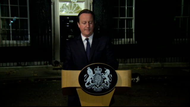 nelson mandela dies david cameron statement england london downing st david cameron mp statement sot tonight one of the brightest lights of the world... - forgiveness stock videos & royalty-free footage
