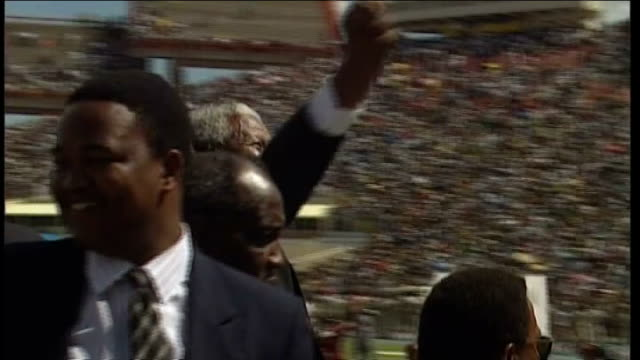nelson mandela in hospital lib pretoria mandela on becoming south african president - president stock videos & royalty-free footage