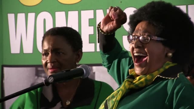 Nelson Mandela's exwife Winnie MadikizelaMandela said she was overwhelmed with emotion as she celebrated her 80th birthday at an event arranged by...