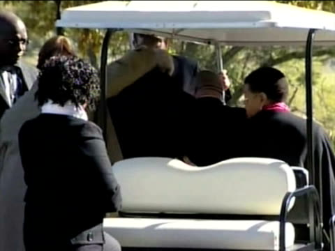 nelson mandela's greatgranddaughter who died in a car crash on the eve of the world cup was laid to rest on thursday in an intimate ceremony in a... - personal land vehicle stock videos & royalty-free footage