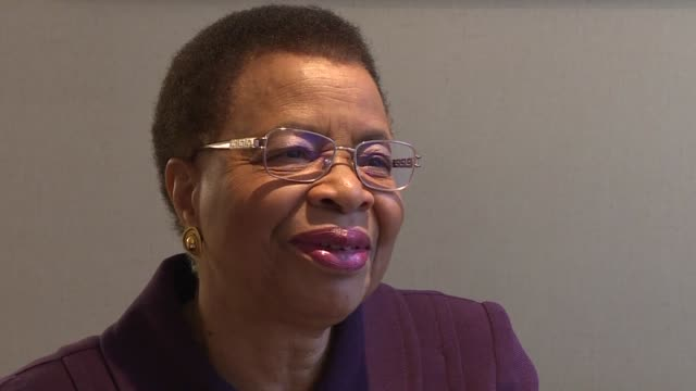 nelson mandela's widow and women's rights activist graca machel says one of the biggest challenges facing the world today is finding the kind of... - widow stock videos & royalty-free footage