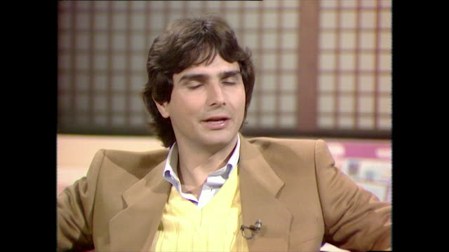nelson piquet speaking in 1983 on why he chose to use his mother's surname rather than his father's he didn't disapprove i knew for sure if he knew... - beige stock videos & royalty-free footage