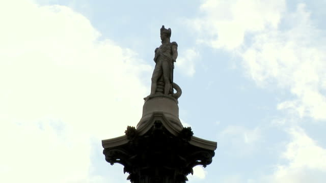 MS, LA, Nelson's Column, Trafalgar Square, London, England