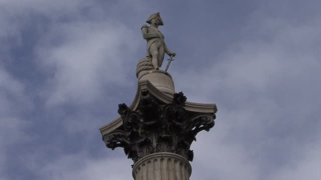 nelson's column - nelson's column stock videos and b-roll footage