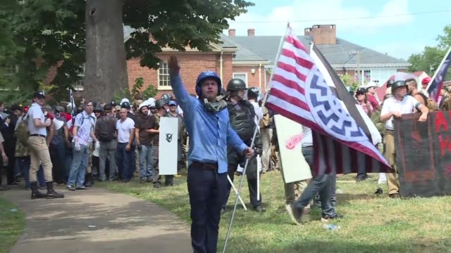 neo nazi found guilty of first degree murder over charlottesville rampage says us media - nazi rally stock videos and b-roll footage