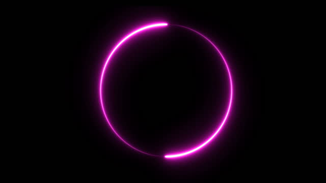 neon fire circle - purple stock videos & royalty-free footage
