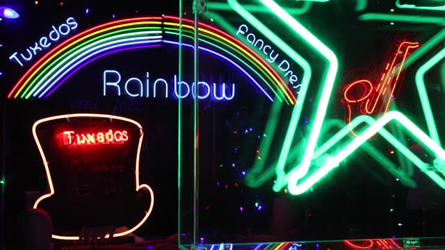 neon signs are on display at electric city exhibition, gods own junkyard at leadenhall market on may 24, 2021 in london, england. - lighting equipment stock videos & royalty-free footage