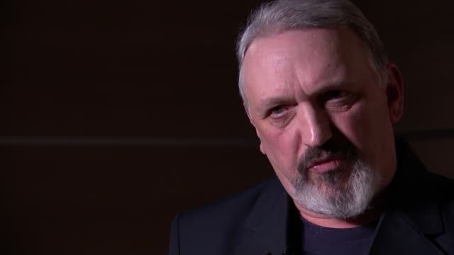 neonazi and national front organiser quits movement and comes out as gay location unknown int kevin wilshaw interview sot copy of 'national front... - adolf hitler stock videos and b-roll footage