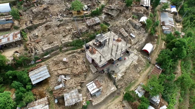 nepal disaster - accidents and disasters stock videos and b-roll footage