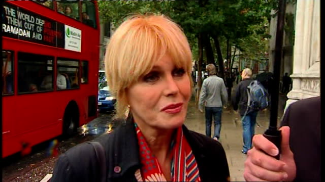 nepalese gurkhas and joanna lumley arrive at high court england london royal courts of justice ext joanna lumley interview prior to judgement sot /... - joanna lumley stock videos & royalty-free footage