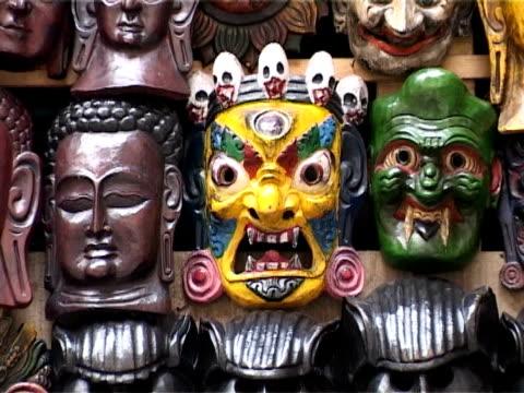 ネパールマスク - 神話点の映像素材/bロール