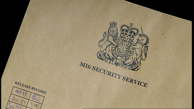 nephew of austrian who leaked nazi secrets sues mi6 to get file opened; england: london: int reconstruction mi6 security service file marked 'top... - traditionally austrian stock videos & royalty-free footage