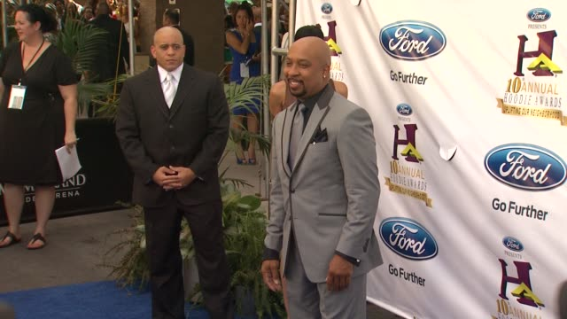 nephew tommy at 10th annual hoodie awards hosted by steve harvey on 8/5/12 in las vegas nv - nephew stock videos and b-roll footage