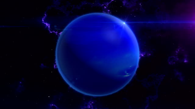 Neptune Reveal in Space